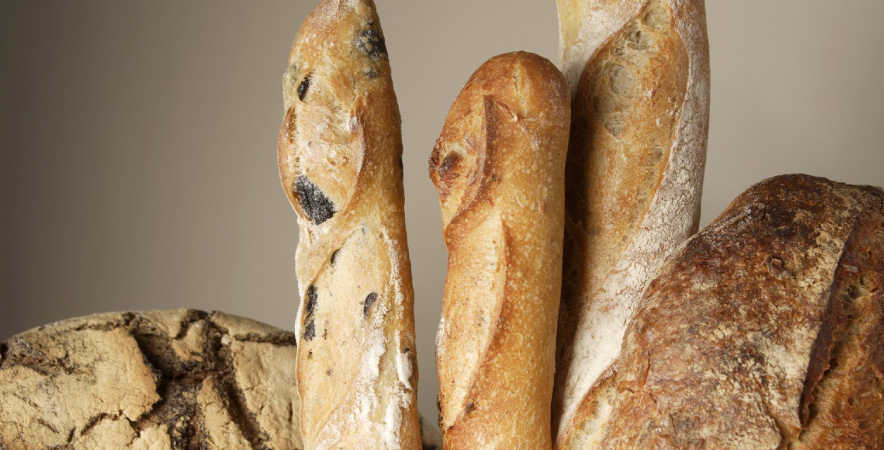 Hier sieht man Brot