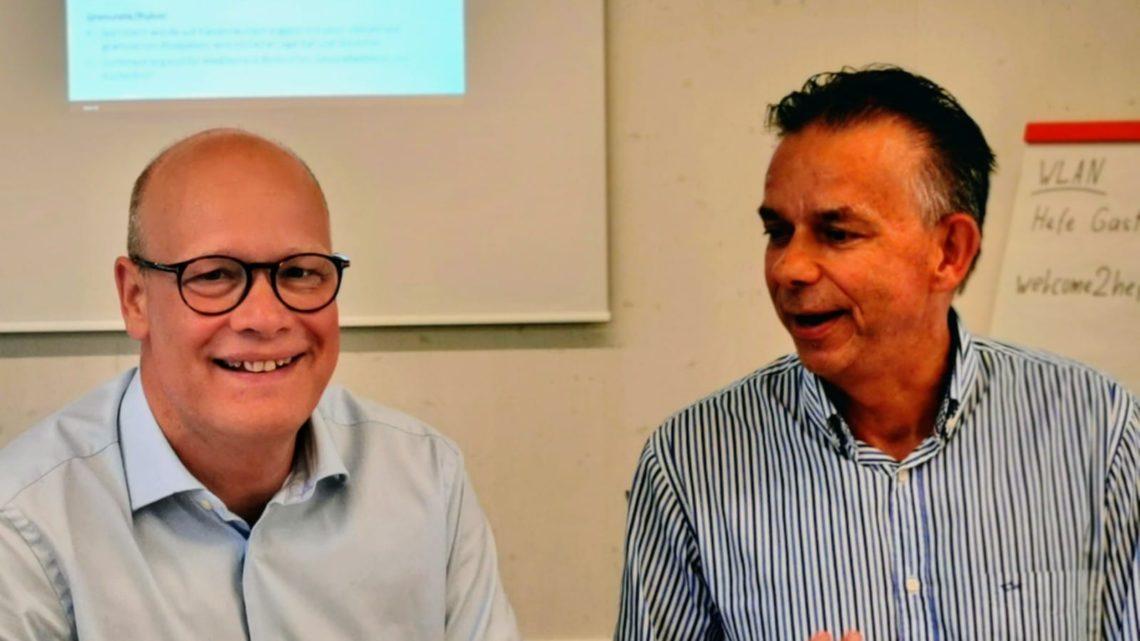 Nicolai Jensen and Henk Adriaansen from Lallemand